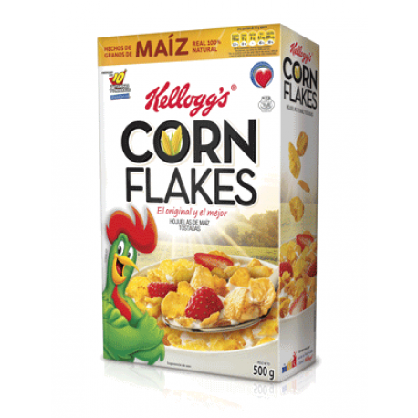 Cereal Kelloggs Corn Flakes 500g