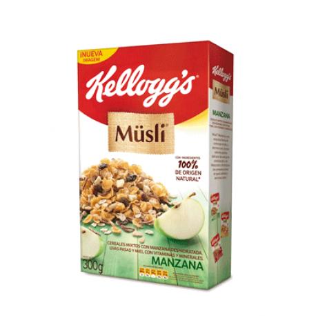 Cereal Musli Kelloggs Manzana 300g