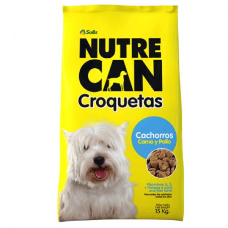 Nutrecan Croquetas Cachorro x 15k
