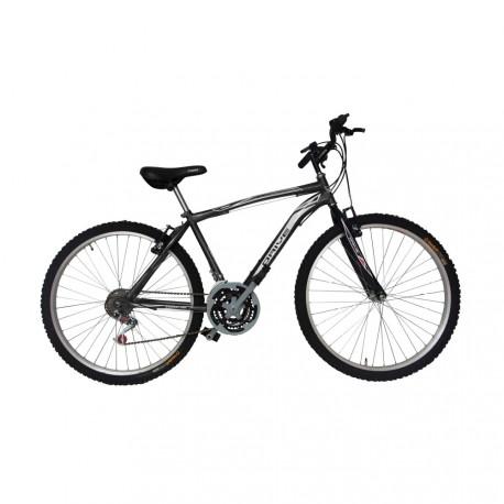 """Bicicleta Milan Acero 26"""" 18 Negra"""