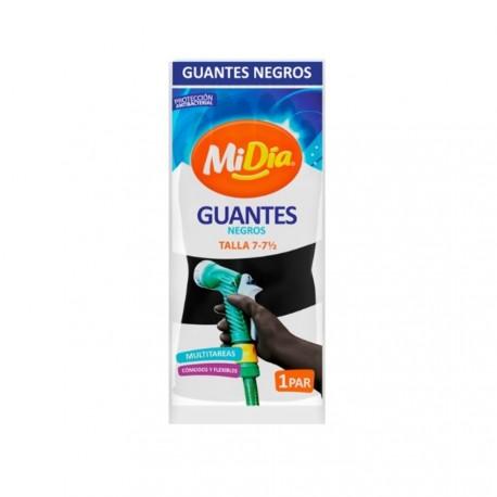Guante Negro industrial MiDía T7 7-1/2